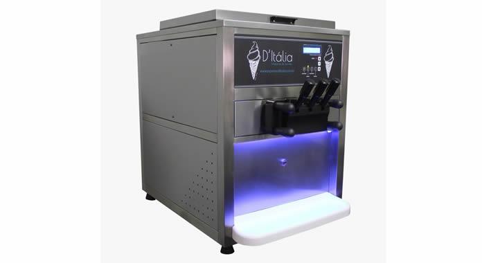 Máquina de fazer sorvete expresso