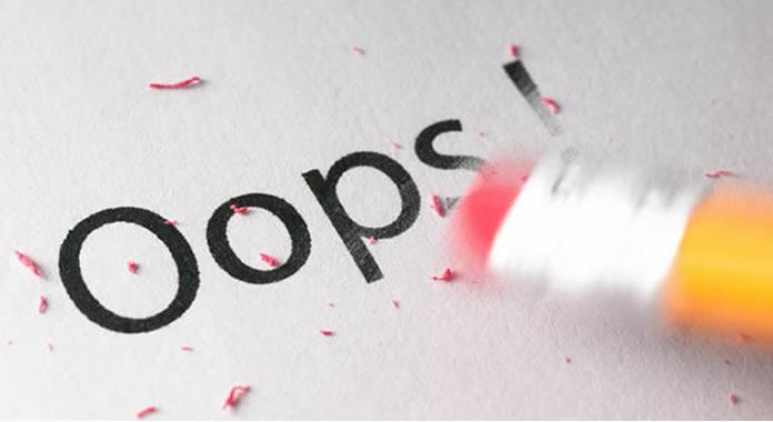 Maiores erros na elaboração de um plano de negócios