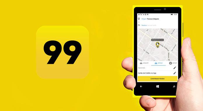 Como ganhar dinheiro dirigindo aplicativo 99 Taxi