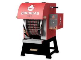 Máquina de assar espetinhos de churrasco